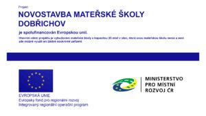 Novostavba mateřské školy Dobřichov